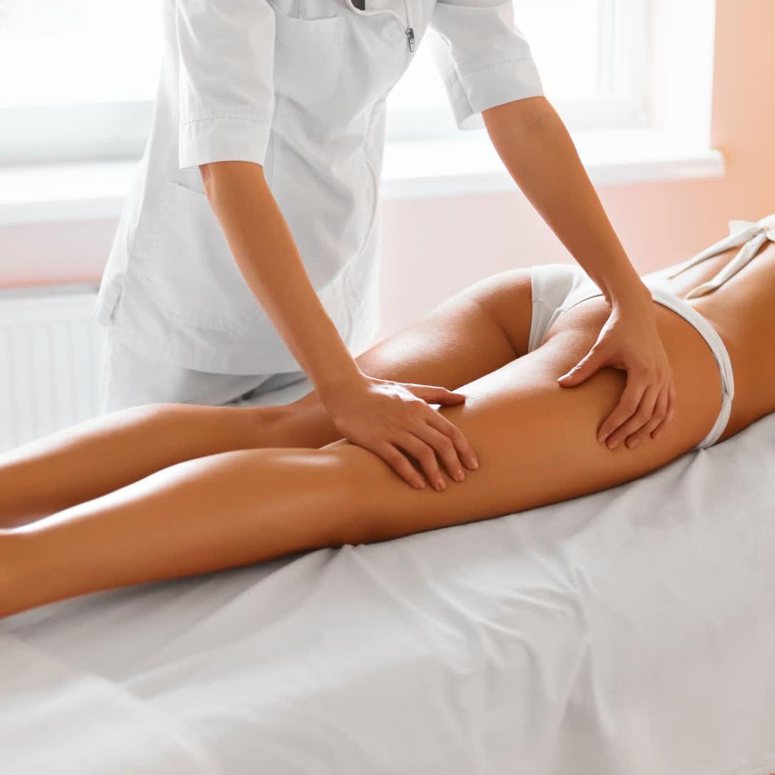 противоцеллюлитный массаж